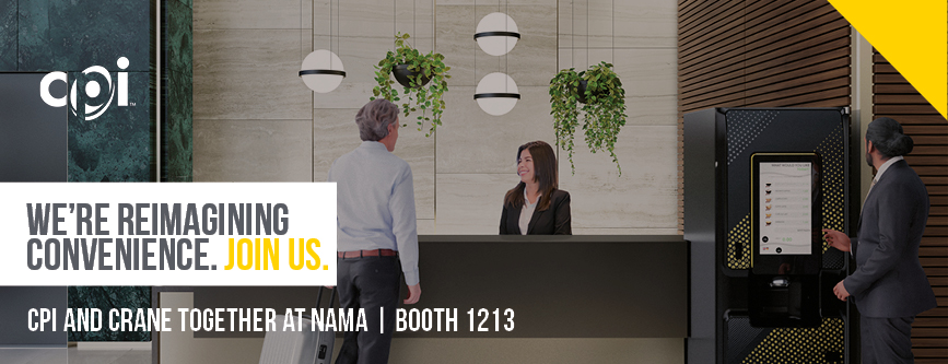 CPI and Crane at NAMA: Booth 1213 | We're reimaging convenience