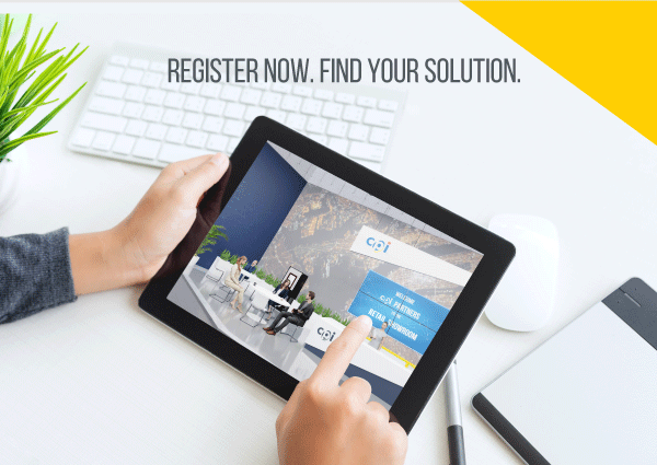 Register Now. Find Your Solution.