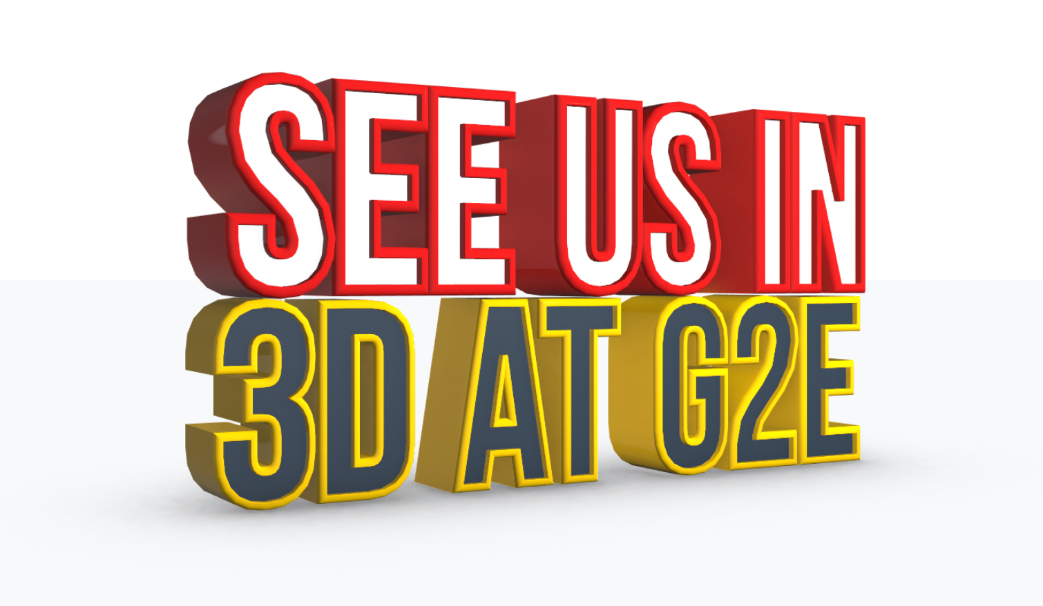See us in 3D at G2E